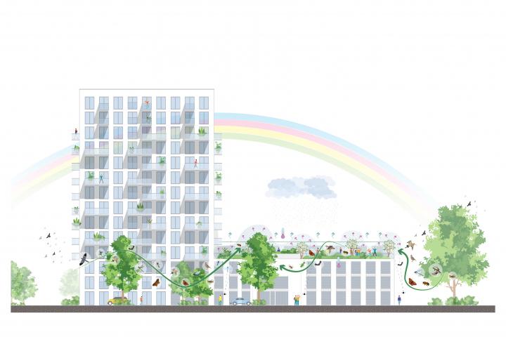 Felixx designs climate adaptive roof garden