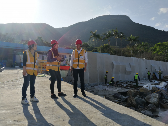 Rapidly progress of the construction of our East Dike project in Shenzhen!