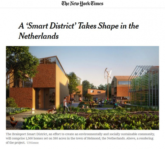 BSD featured in New York Times