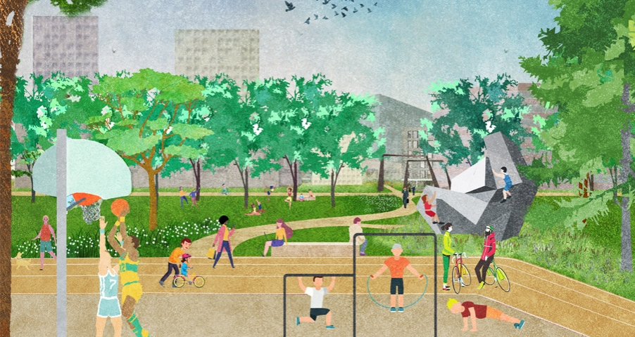 Hondsrug Park Amsterdam