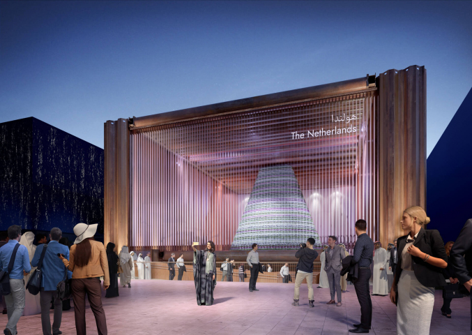 Felixx contributing to Dutch pavilion for Dubai Expo 2020