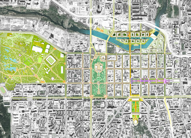 de Architekten Cie. + FELIXX have won the competition for the spatial development strategy