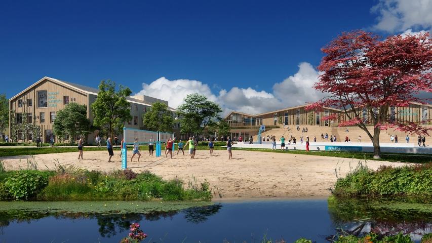 Start Construction Eemsdelta Campus
