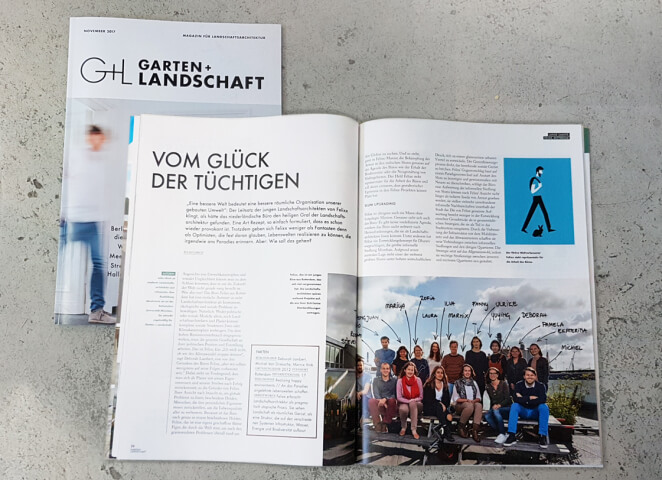Featured in Garten+Landschaft