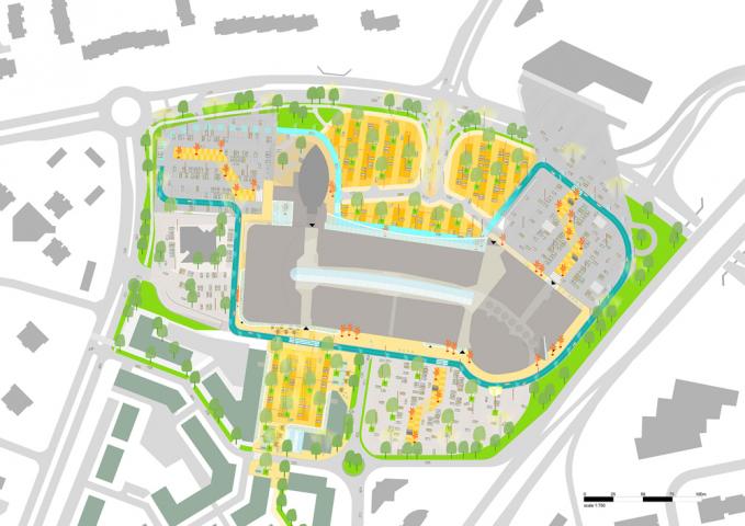 Masterplan Smáralind Mall