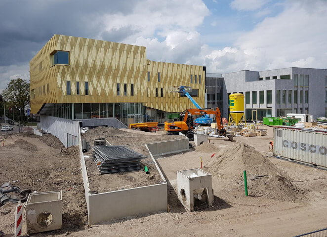 New cultural center in Tiel is nearing completion