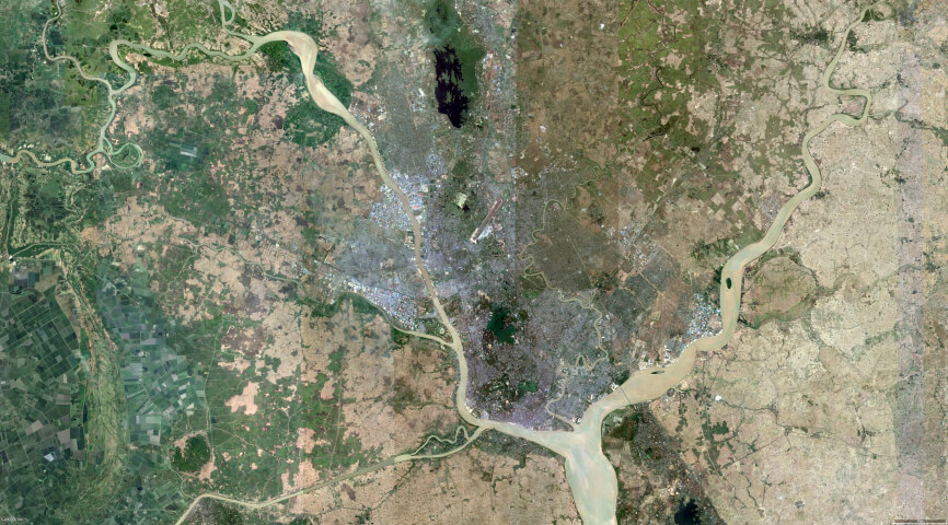 City Extension Plan Yangon