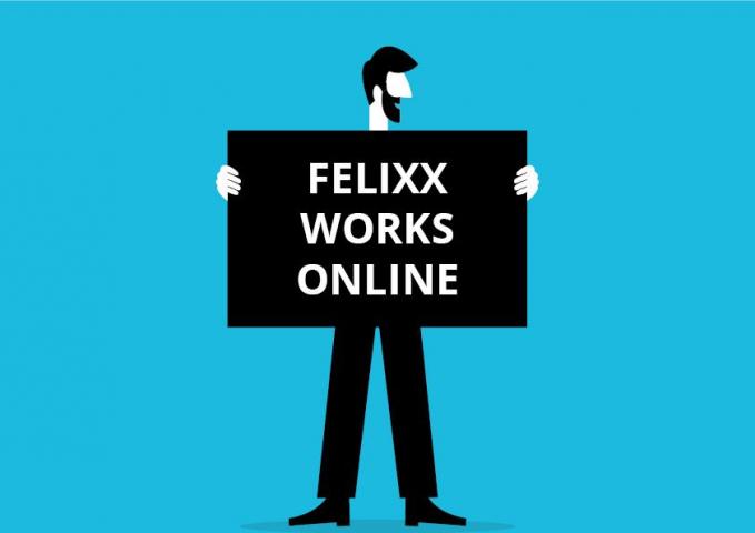 Felixx works online!